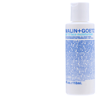 Malin and Goetz Face Moisturizer SPF 15