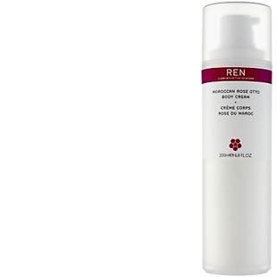 REN Moroccan Rose body moisturizer