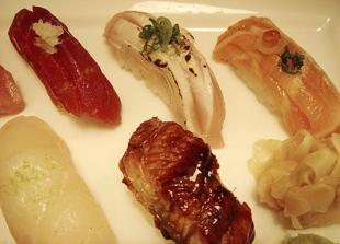 Sushi at Jewel Bako