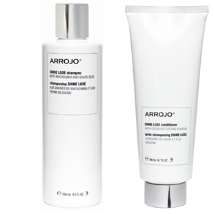 Arrojo's Shine luxe  and conditioner