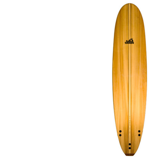 Grain wooden surfboard