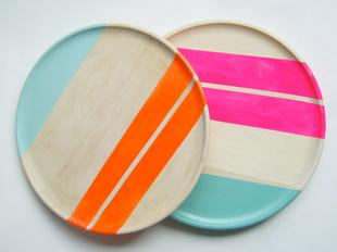 Nicole Porter neon wood