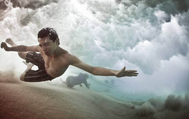 Escape, Summer 2010 by Mark Tipple,  mark tipple photographer, australian photographer, underwater photography