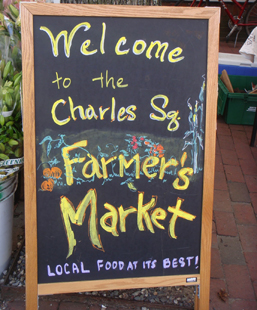 48 hours in cambridge, massachusetts, charles square farmer's market, nutrition, eating, healthy food