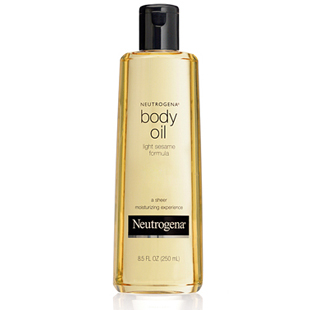 Neutrogena sesame oil, moisturize, skin, skincare, beauty, body oil, shower essentials, marie robinson