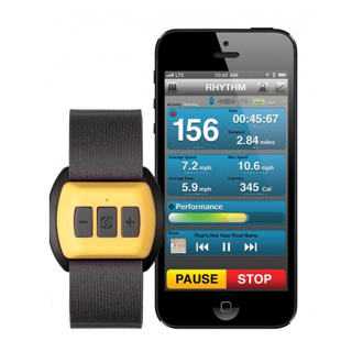 rhythm fitness tracker, gym gear, technology, fitness, health, lifestyle, fitness  rate monitor