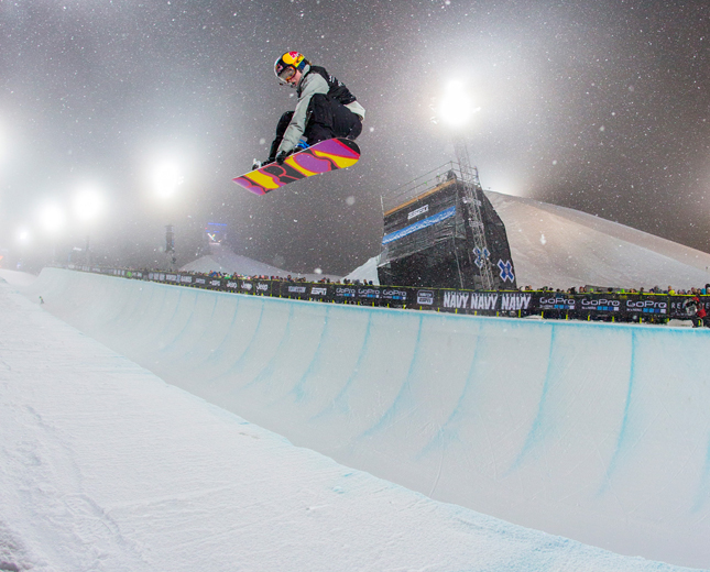 Arielle Gold, Snowboarder, barbell, leg squat, workout, fitness, sochi, athlete