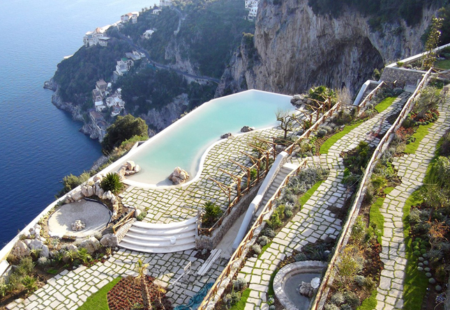 Monastero Santa Rosa, Conca dei Marini, Italy, monastery, hotel, Turkish, sea, rejuvenating, spa, hydrotherapy pool, health, travel, lifestyle, vacation, honeymoon, Q Blog