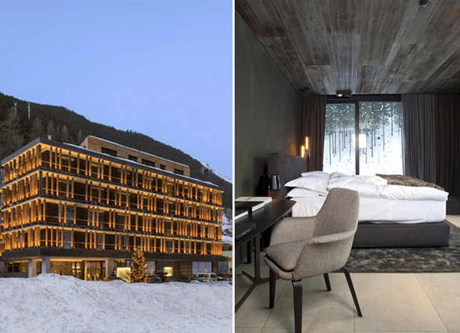 Hotel Zhero, Austria, hotel, travel, lifestyle, ski, Ischgl ski resort, glass, wood, stone, mountains, view, fireplaces