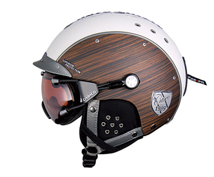 High Tech, Helmet, Casco SP-3 Edelholz, wood, European, goggles, magnetic, skiing, snowboarding, fitness, activity, phsyical, health