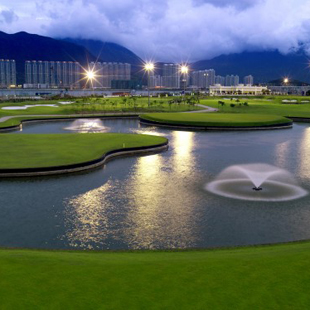 SkyCity Nine Eagles, Golf Course, golf, Hong Kong's International Airport, man-made lake, airport, travel, layover, game