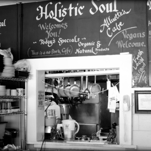 Alluette's Soul Café, soul food, restaurant, Charleston, South Carolina, Alluette Jones-Small, organic, food, eating, health, lifestyle, lima bean soup, salmon burger,