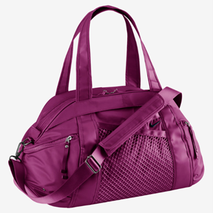 Nike crossbody , nike, , gym, tote, plum, exercise, fitness, equinox, Q blog, workout, accessories, purse