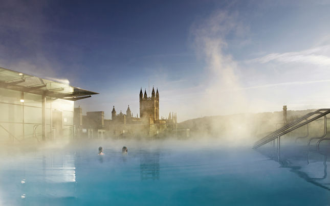 United Kingdom, UK, Bath, Thermae Spa, Spa, England, Britain, mineral water, historic, rooftop pool, body, water, relax, hydration, healing, H20