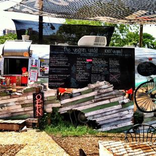 The Vegan Yacht, food truck, Austin, Texas, East Austin, organic, gluten free, The Grackle, food, The Garden Chalupa,