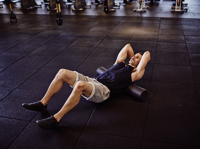 Scientifically-Proven Workout, UCLA, California, workout, fitness, health, exercise, gym, body, cycle 2, movement prep, foam roll, thoracic spine