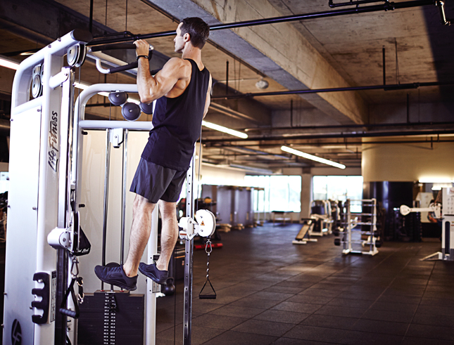 Scientifically-Proven Workout, UCLA, California, workout, fitness, health, exercise, gym, body, cycle 3, strength, pull-up