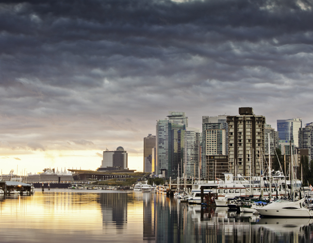 couver, British Columbia, Canada, downtown, city, seawall path, coastal, urban, hiking, cycling, yaletown