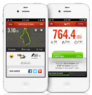 Nike, Nike+Running App, Iphone, fitness, health, lifestyle, running, exercise, calories, tracker