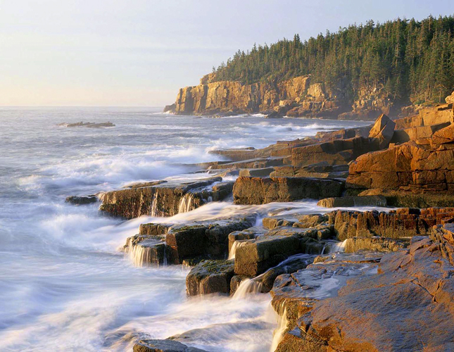 Acadia National Park, Park, Water, nature, scenic, rocky, woods, coastal, mountains, Seawall campground, camping, East Coast