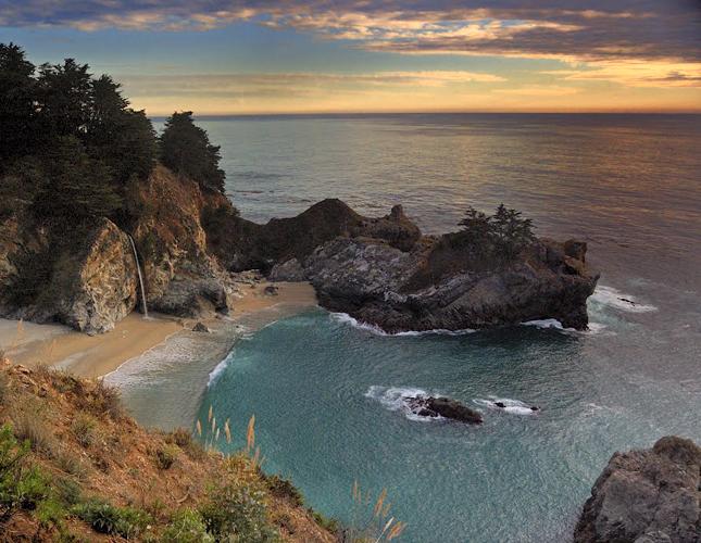 Q Blog, Roadtrip, RV, Camping, campsite, Big Sur, California, Julia Pfeiffer Burns, State Park, Pacific Coast Highway, water, coast, kayak, nature, woods, beach, ocean, USA