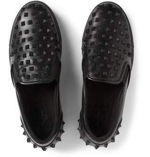Q Blog, Mr. Porter, Mike Rosenthal, Shoe Round Up, Photographer, Equinox, Sneakers, Men's, Fashion, Style, Shoes, Footwear, comfort, Valentino, Spikes, studs, black, leather, slip on