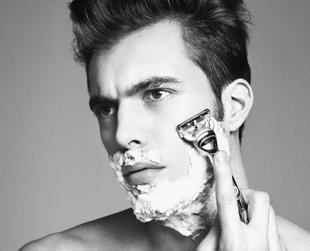 Q by Equinox, shaving, men's , shaving technique, barber , Harry's Corner Shop, Rudy Milian