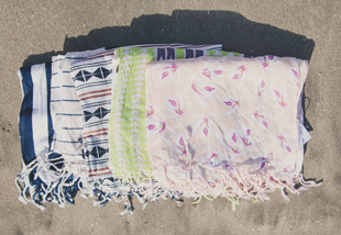 acacia swimwear  sarong, sarongs, beach essentials, summer wear, q by equinox, swimwear