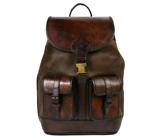 s, lifestyle, fashion, style, Santa Cruz Leather Backpack. leather s, stylish s, sage erickson