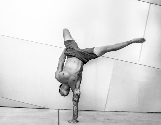 arm balances, fitness, health, body, workout, Dylan Werner, meditative state, strength, balance, focus, equilibrium, homeostasis, mind, body and mind, movement, beautiful body moves, q by equinox
