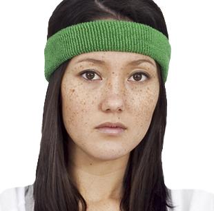 CAMILLA BLACKETT, Hollywood writer, british, lifestyle, hollywood, tv show writer, headband, sweatband, american apparel terrycloth sweatbands