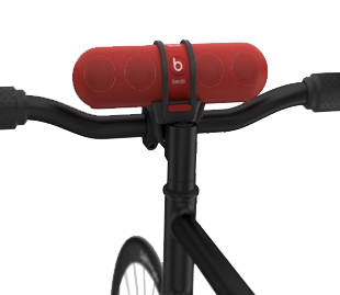Beats, Cycling Gear, Portable Beats, Beats by Dr. Dre Pill Speaker Mount, music, bike gear, cycle gear, cycling