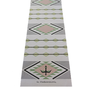 yoga, yoga gear, fitness, gym gear, workout, health, lifestyle, q by equinox, La Vie Boheme Navajo Yoga Mat, yoga mat
