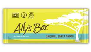 ally's bar, Ally Stacher, pro cyclist, athlete, vegan food bar, natural ingredients, sweet potatoe bar, nutrition, health, healthy snacks, food for athletes, q by equinox