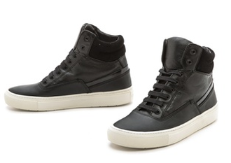 christmas presents, presents, gifts, holiday, q by equinox, gift guide, 2014 gifts, 2014 holiday season, , vince newman high tops, fashion, designer, shoes