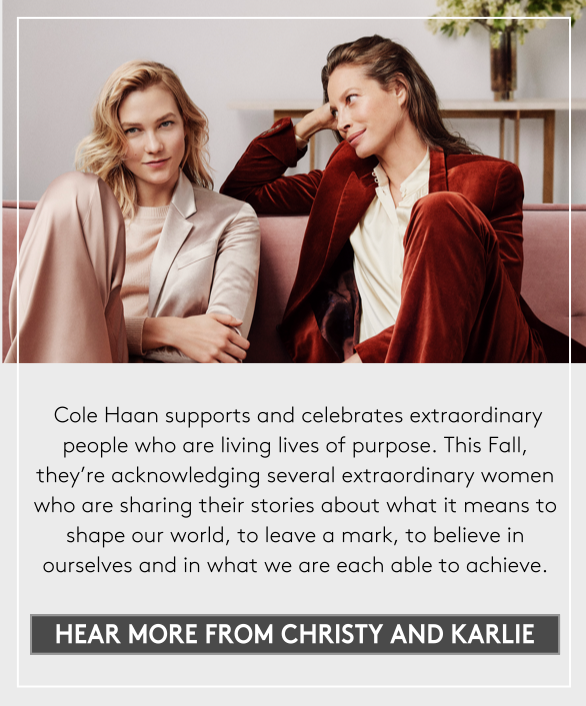 hear more from christy and karlie
