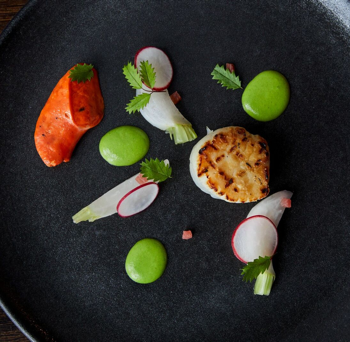 Chef Christopher Haatuft's dishes