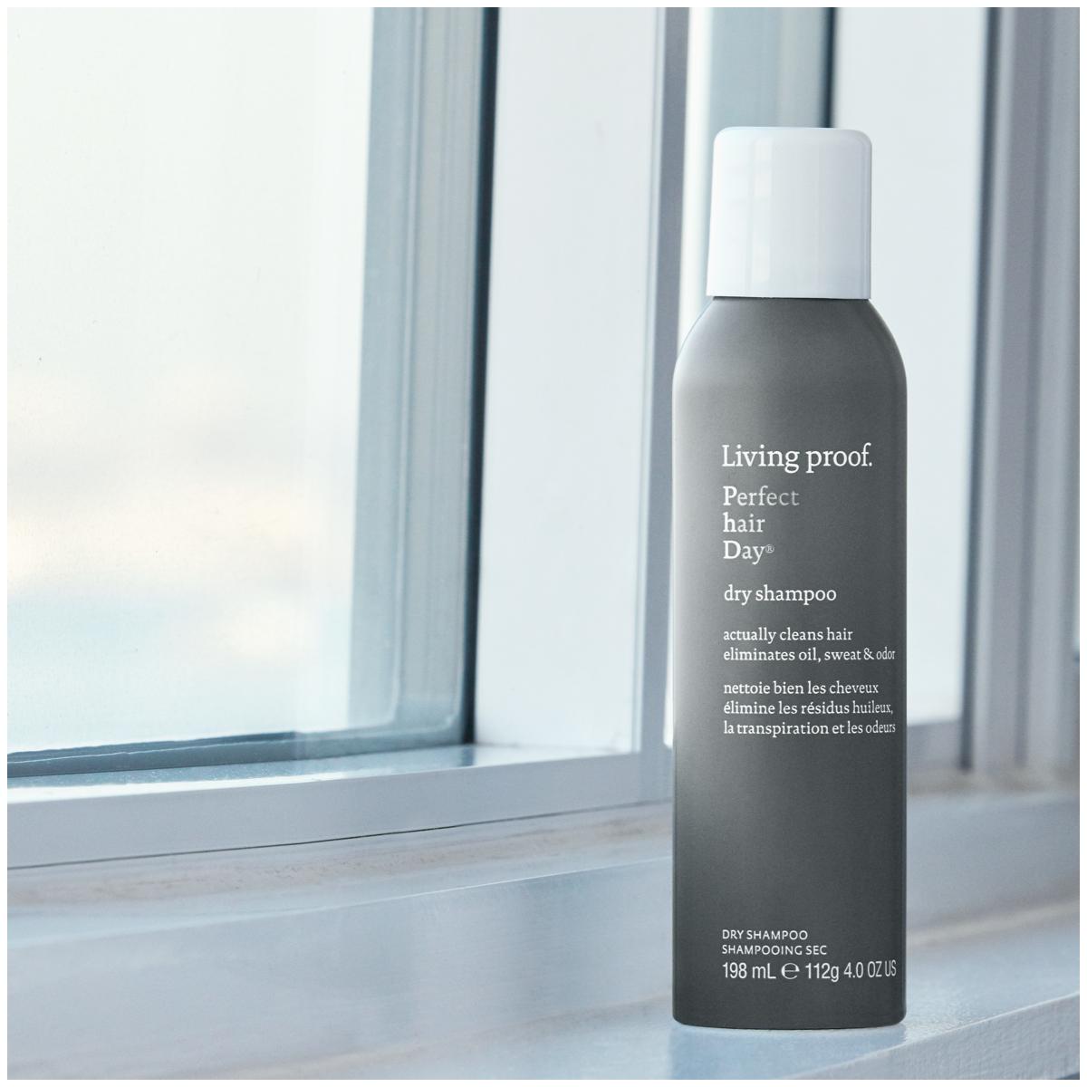 Spray your hair clean